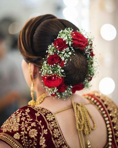 Best Bridal Hairstyle Ideas For Indian Wedding Shaadi Baraati